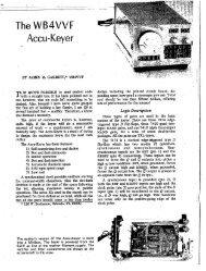 The WB4VVF . Accu-Keyer