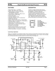 K8 keyer manual - K1EL com
