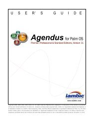Agendus for Palm OS - Iambic