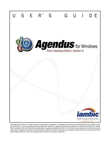 8 free magazines from iambic com rh yumpu com Palm Desktop Manager Windows 7 Palm Desktop Windows 8