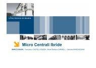 Mini Centrali Ibride - MCM Energy Lab