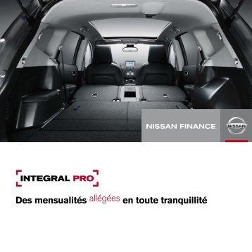 Téléchargez la Brochure - Nissan