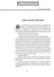 CINE A FOST TRAIAN? - Dacia.org