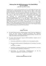 71 Satzung über die Abfallentsorgung in der Stadt Willich