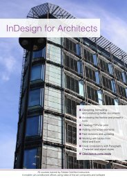 InDesign for Architects - Adobe Training
