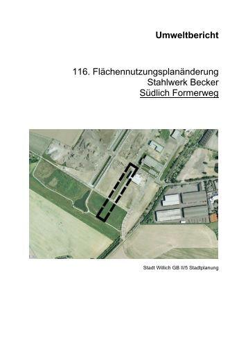 Umweltbericht (4667 KB), PDF-Datei - Stadt Willich