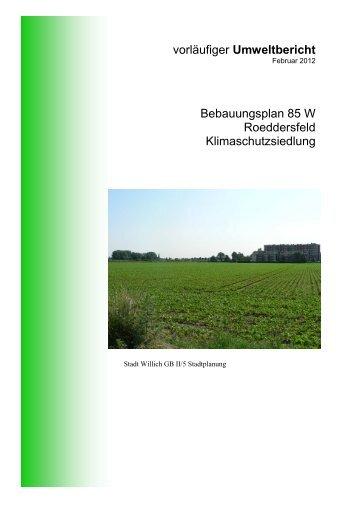 Umweltbericht (6828 KB), Pdf-Datei - Stadt Willich
