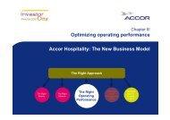 Accor Hospitality: The New Business Model Optimizing operating ...