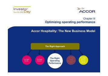 Accor Hospitality: The New Business Model Optimizing operating ...