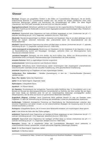 LANUV-Arbeitsblatt 9 - LANUV NRW