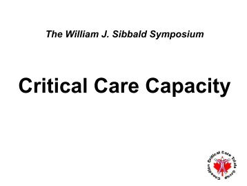 ICU bed capacity - how does supply affect utilization? - Critical Care ...