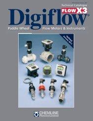 Paddle Wheel Flow Meters & Instruments - Chemline Plastics Limited