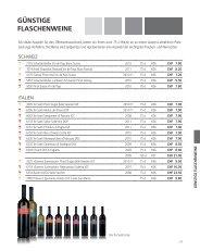 günstige Flaschen- und Offenweine