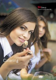 Cateringangebot (PDF, 450 KB) - Restaurant Mattenhofkeller - SV ...