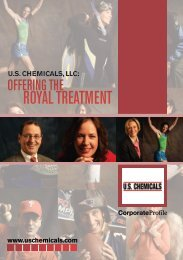 ROyAL TREATMENT - US Chemicals