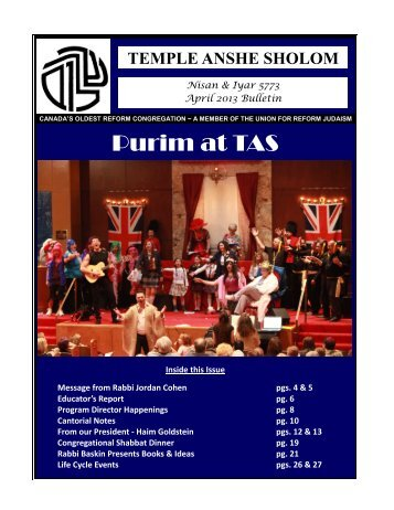 Purim at TAS
