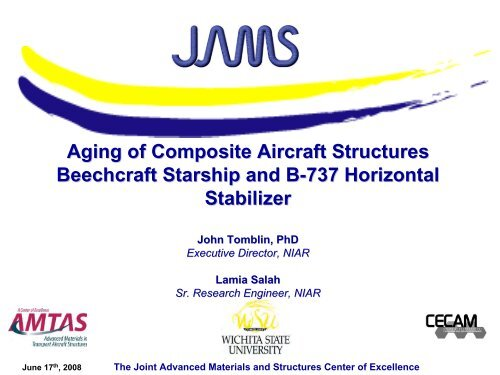 Aging of Composite Aircraft Structures Beechcraft Starship