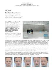 Roni Horn Recent Work - Hauser & Wirth