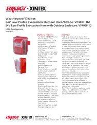 PowerTone SPL Low profile Speakers & Speaker/Strobes