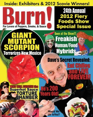 2012 Fiery Foods & BBQ Show - Fiery Foods and Barbecue SuperSite