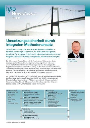 Umsetzungssicherheit durch integralen Methodenansatz (mit ... - HPO