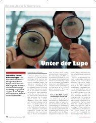 Unter der Lupe - Home - Ernst & Young - Schweiz