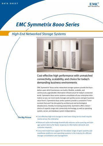 Emc symmetrix 8000 series