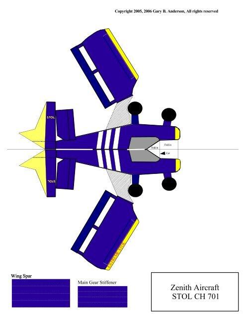 Zenith Aircraft STOL CH 701 - Zenith Aircraft Company