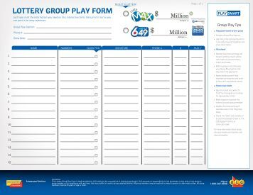 9 free magazines from olg ca for Lottery group contract template