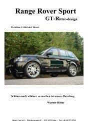 LR-Range Rover Sport GT-Ritter-Design - Ritter Cars
