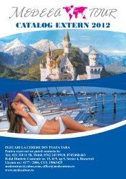 Catalog extern 2012 - Medeea Tour