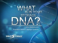 What Is In Your Storage DNA? - Flash Memory Summit