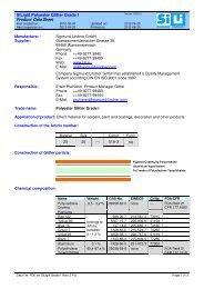 PDS en SiLiglit Grade I Holo-3 PU - Sigmund Lindner GmbH