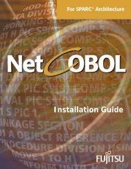 Installation Guide - NetCOBOL