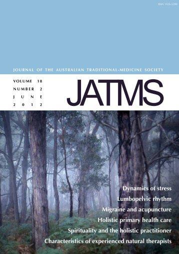 June 2012 - Australian Traditional Medicine Society