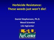 Herbicide Resistance: These weeds just won't die!