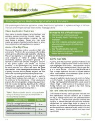 Postemergence Herbicide Applications in Soybeans - Lewis Hybrids