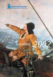 Årsmelding 2002 - Sjøfartsdirektoratet
