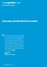 Cairnhill Wind Farm Limited - The Co-operative Bank