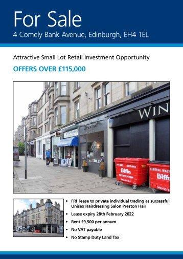 4 Comely Bank Avenue, Edinburgh, EH4 1EL - Burns and Partners