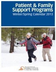 Patient & Family Support Programs - Norris Cotton Cancer Center ...