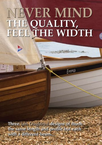 Oughtred Articles - Duck Flat Wooden Boats