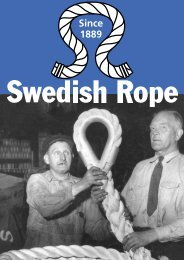 Download our catalogue here - Swedish Rope