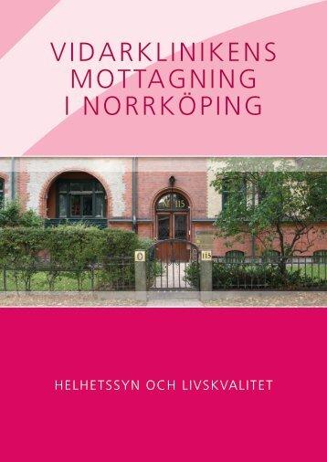 Kontaktuppgifter Vidarklinikens mottagning i Norrköping