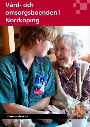 Vård- och omsorgsboenden i Norrköping - Norrköpings kommun