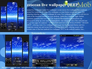zzocean live wallpaper DEEP - RunMob