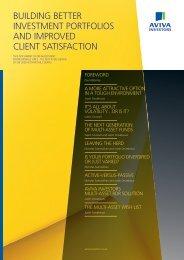 Compendium of Multi-asset Fund Articles - Aviva Investors