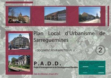 2. P.A.D.D. - Sarreguemines