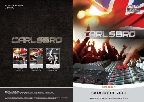 PRO AUDIO - Carlsbro