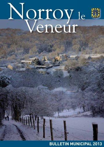 Bulletin municipal 2013 (3.69 Mo - format .pdf) - Norroy le Veneur